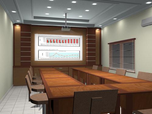 Interior Kantor Ruang Meeting
