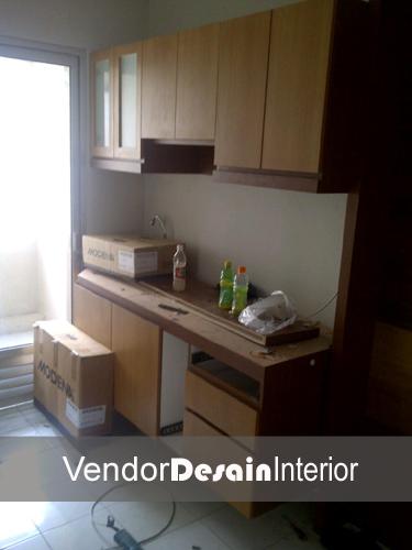 Jasa Desain Interior Apartemen Casa Grande Kuningan Progress Dapur 3