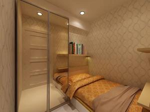 Jasa Desain Interior Jakarta : Kamar Tidur Apartement Puri Park View Kembangan