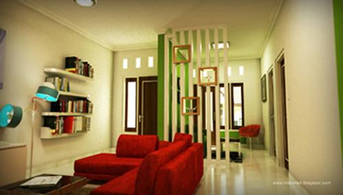 Kontraktor Interior Desain di Kelapa Gading Ruang Tamu