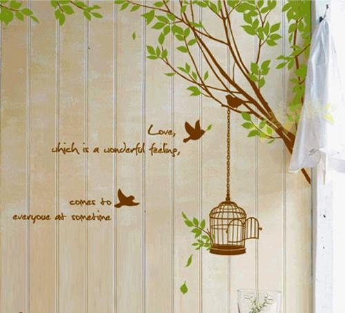 Kontraktor Interior Desain di Perumahan Kembangan Wallpaper Sticker pada Kamar