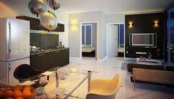 Jasa Desain Interior Jakarta : Ruang Tamu Apartement The Hive Tamansari Cawang