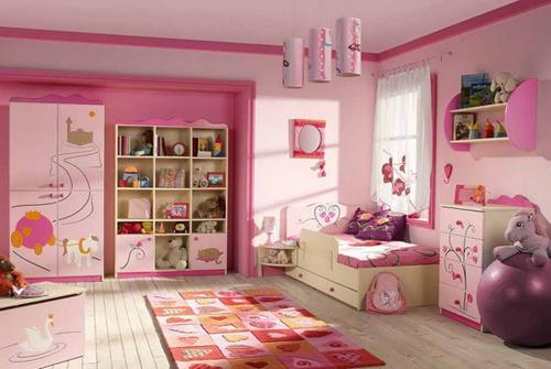 Warna Kamar Anak Kamar Anak Perempuan