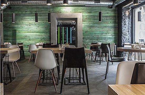 Jasa Desain Interior Restoran di Jakarta Pusat bergaya Kontemporer