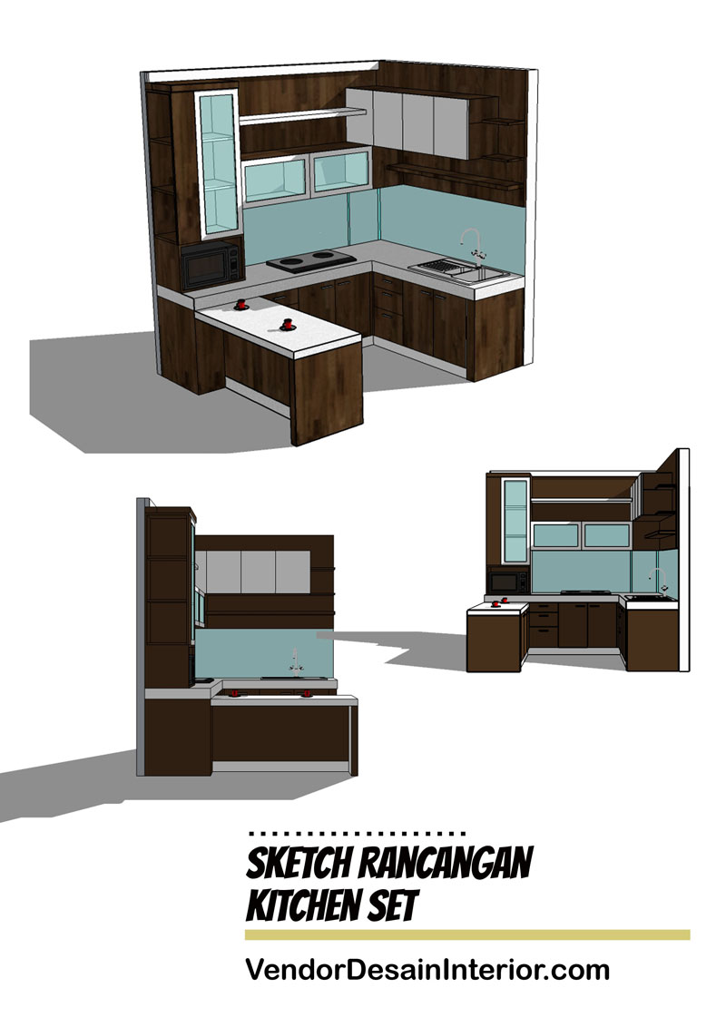 Desain Interior The Wave Kuningan Jakarta