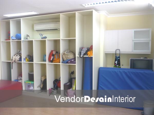 Jasa Kontraktor Desain Interior Rumah Sakit Lemari Anak