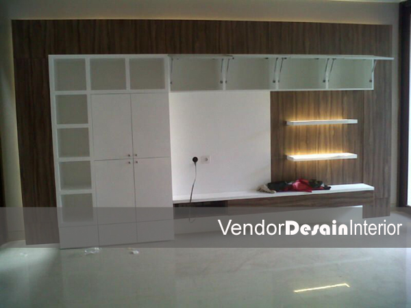 interior desain panel tv copy
