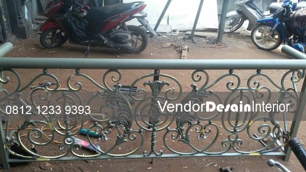 Pagar Besi Balkon Minimalis