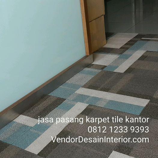 Jasa Pasang Karpet Tile Jakarta