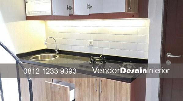 Kontraktor Interior Desain Dapur Kitchen Set Bekasi