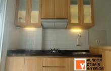 Jasa Pembuatan Kitchen set Oak Apartemen