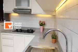 Interior Desain Kitchen Set Minmalis Depok