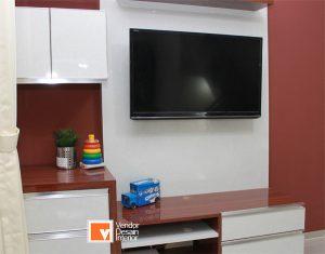 Interior Desain Panel TV Jakarta Barat