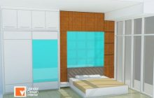 Bed Set Furniture Custom Kamar Tidur Bintaro, Furnitur Custom Bintaro, Furniture Bintaro
