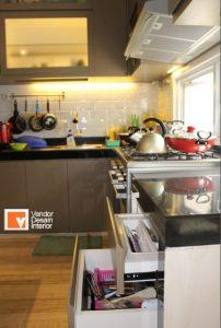 Kitchen Set Minimalis Bintaro BSD Jakarta, Kitchen Set Minimalis BSD