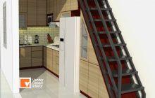 Projek Kitchen Set Condet Jasa Desain Interior Jakarta