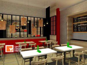 Rancangan Desain Kontraktor Interior Jakarta, KOntraktor Restaurant