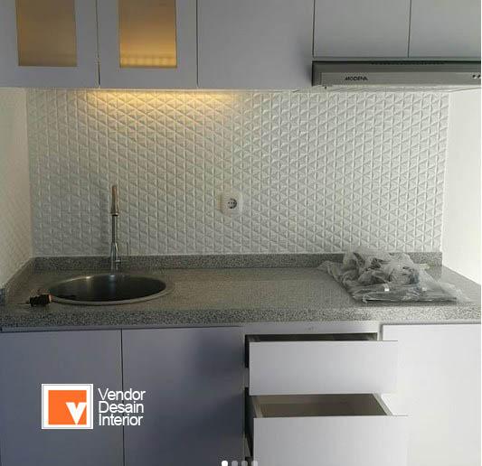 Desain Dapur Minimalis Riverside Pancoran