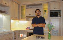Kitchen Set Duco Natural di Jakarta Pusat