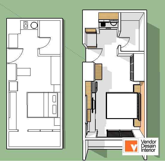 Desain Dalam Interior Apartemen