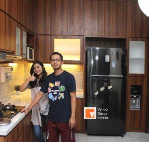 Desain Interior Kitchen Set Duren Sawit