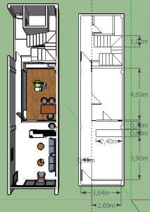 Layout Desain Klinik Gigi Jakarta Timur