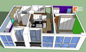 Tukang Kitchen Set Bagus Apartemen Tifolia