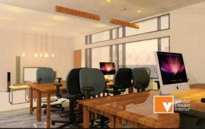 Meja Kerja dan Interior Desain Kantor di Salemba Matraman dan Cempaka Putih Jakarta Selatan