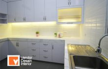 Jasa Kitchen Set Minimalis Rumah Mewah Permata Hijau Senayan Grogol Utara Jakarta Selatan