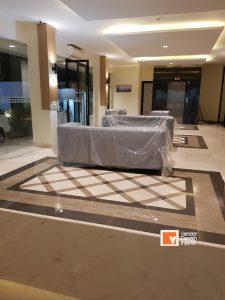 Kontraktor Interior Lobby Hotel Puncak CIbodas Cisarua Gadok