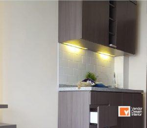 Interior Desain Kitchen Set Cathleya Pulo Gadung