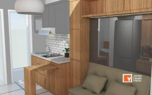 Kitchen Set dan Interior Desain di CitraGrand Cibubur