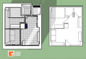 Rancangan Desain Apartemen CitraGrand Cibubur