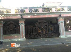 Pagar Besi Tempa Kuningan Jakarta Selatan