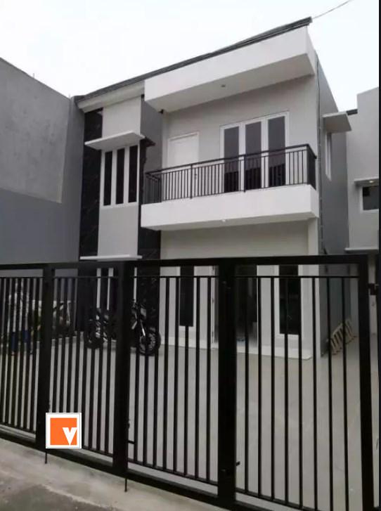 Pagar Rumah Minimalis Tembah Alumunium Rawasari Salemba Jakarta Pusat
