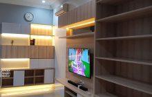Interior Desain ruang Tengah Rumah BSD BINTARO