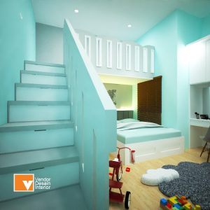 Desain Interior Kamar Anak Jatibening Bekasi