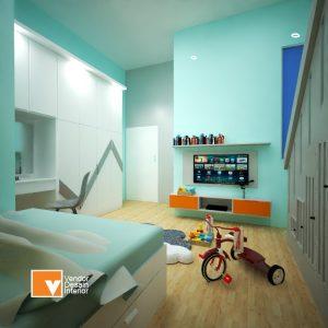 Desain Interior Kamar Anak Bekasi
