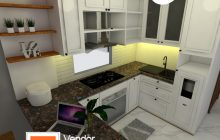 Interior Desain Kitchen Set Cilincing