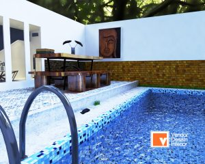 Kolam Renang Desain Interior Menteng Jakarta Pusat