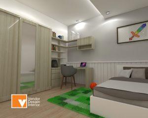 Interior Desain Kamar Anak Cipayung