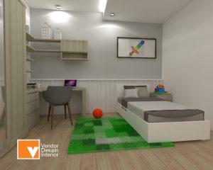 Interior Desain Kamar Anak Cipayung Jakarta Timur