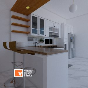 Interior Desain Kitchen Set Alam Sutera Victoria