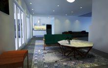 Interior Desain Klasik American Kebayoran Lama Jakarta Selatan
