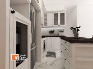 Interior Desain Pondok Kopi Kitchen Set Jakarta Timur