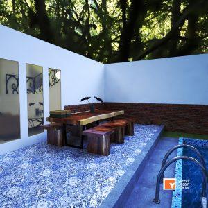 Interior Desain Rumah Mewah Kebayoran Lama Simprug Jakarta Selatan