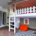 Interior Kamar Anak Teber Jakarta Selatan