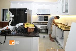 Jasa Kitchen Set Klasik Pondok Kopi Jakarta Timur