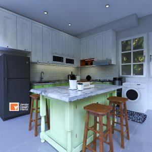 Kitchen Set Cempaka Putih