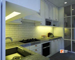 Kitchen Set Klasik American Kebayoran Lama Simprug Jakarta Selatan